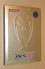PES 2013 Pro Evolution Soccer Steelbook G1 no game new and sealed Konami