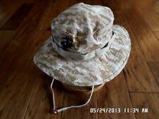 Marine Corps Style Digital Desert Camouflage Boonie Hat Large 7 1/2 With Ega