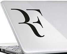 Roger Federer #1 Vinilo calcomanía adhesivo con el logotipo de tenis de Wimbledon Ipad Mac Portátil Mod