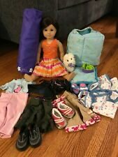 American Girl Doll Jess McConnell + Coconut dog + accessories Pleasant Company