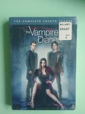 The Vampire Diaries: The Complete Fourth Season (DVD, 2013, 5-Disc Set) - SEALED