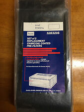 Set of 2 replacement charcoal coated pre-filters