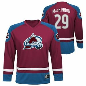 Outerstuff NHL Youth (4-18) Colorado Avalanche Nathan Mackinnon Player Jersey