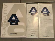 1:18 1:24 1:43 1:64 AUTOart lotto 3 Cataloghi Brochure Automodelli lim. Edition