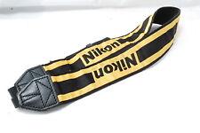 **Not ship to USA**  Nikon Strap Yellow SN340