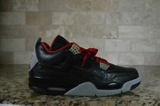 NEW Nike Air Jordan 4 Retro Rare Air Black Laser 312255-061 Men's Size 11