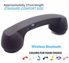 Bluetooth Radiation free Retro Mobile Phone Cellphone Handset fit iPhone 5 6 7 8