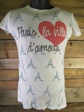 PARIS d'amour La Ville T-Shirt Size M