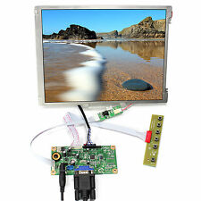 "VGA LCD Controller Board 10.4"" 800x600 LED Backlight Replace G104SN03 V1"