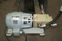 IMO Hydraulic 4000 PSI 12.2 GPM PUMP WITH Reuland MOTOR 3ph 42032/22005RIP