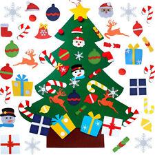 DIY Juego de Árbol de Navidad Fieltro 31 Piezas de Adornos Decoración Fiesta ES