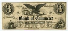 1856 $3 The Bank of Commerce - Providence, RHODE ISLAND (Spurious) Note