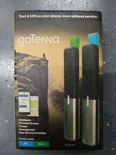 New ListinggoTenna Two Off-Grid Sms/Text & Gps Devices Blue & Green Pair to Phone thru Bt