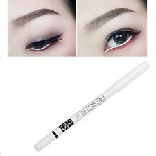 White Eyeliner Pencil Eye Liner Waterproof Long Lasting Under Eye Brighten HOT