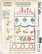 McCall'S Transfer Pattern 6940 for House Linens & Other Textiles Unused