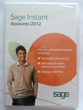 BRAND NEW AND SEALED SAGE INSTANT ACCOUNTS 2012 FOR NEW & SMALL BUSINESSES  ~*