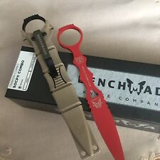 Benchmade 176BKSN SOCP COMBO Dagger & Trainer, Sand Sheath *Authorized Dealer*