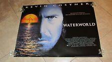WATERWORLD movie poster KEVIN COSTNER original advance UK quad poster