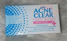 Mistine Acne Clear Soap  Scrub Special Formula Acne Skin 90 g.
