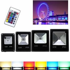 10W -50W  LED RGB Foco proyector Lámpara Exterior Floodlight Resistente al agua