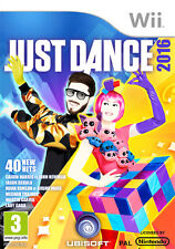 Just Dance 2016 Nintendo WII IT IMPORT UBISOFT