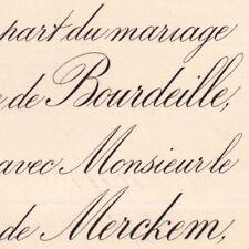 Jeanne De Bourdeille 1880 Charles De Coninck De Merckem