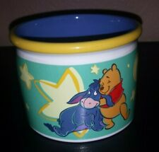 Disney Store Winnie The Pooh Eeyore Cappuccino Coffee Mug Applause 14oz Cup K442