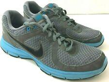 NIKE AIR Relentless Mens 10M Sneakers Black Gray Blue