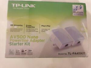 Tp link av500 nano powerline adapter starter kit plug and play