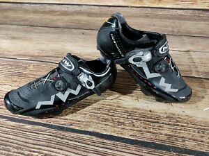 NORTHWAVE Extreme Cycling MTB Shoes Mountain Biking 2 Bolts Size EU43, US10.5