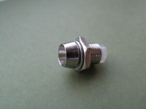 10PCS 3mm Clip Chrome Metal Bezel LED Holders Mounts UK