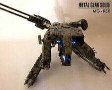 METAL GEAR SOLID ACTION FIGURE MG-REX REX 48 CM STATUE MGS SNAKE LIQUID GRAY FOX