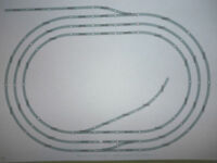 Hornby Job Lot Nickel Silver Track Triple Oval & sidings - minor sleeper defects