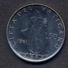 VATICANO Giovanni XXIII 50 Lire 1961  FDC (UNC)