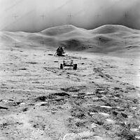 8x10 Print NASA Apollo 15 Shows Lem on Lunar Surface #1a351