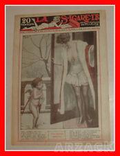 LA SIGARETTA 857 NERBINI 31/12/1922 rivista erotica