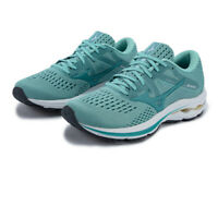 Mizuno Womens Wave Inspire 17 Running Shoes Trainers Sneakers Blue Sports