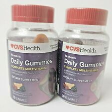 CVS Women's Daily Gummies 70 x 2 = 140 Total Complete Multivitamin Exp 09/21