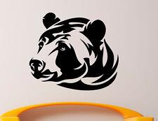 Grizzly Bear Wall Decal Vinyl Sticker Wild Animals Interior Art Decor (6bgr1)