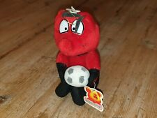 Red / Black Football Bumble Bee Plush Soft Toy - PataMates *NEW WITH TAGS* Read