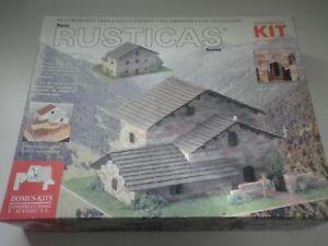 Costruzioni RUSTICAS Domus Kits Scala 1:60 Construccion
