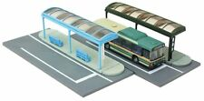 Tomytec Komono 007-4 Bus Stop A4 1/150 N scale