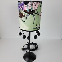Vintage 1960s Hippie Table Lamp 15.5 In Tall Handout Bar Lighting