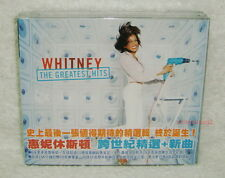 Whitney Houston The Greatest Hits Taiwan 2-CD w/OBI