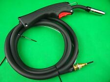 SIP Style MIG Gun 2.5m Direct Connect Gun Gas Flow Valve in Handle MIGMATE Gun