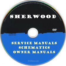 Sherwood Service Manuals & Schematics- PDFs on DVD - Huge Collection
