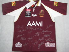 2008 Official Queensland Jersey Hand Signed x 17    # 126/150  Maroons