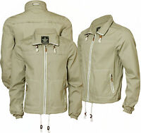 Mens Holmes & Co DMR015 Lightweight Cotton Jacket with Mesh Lining S-XXL