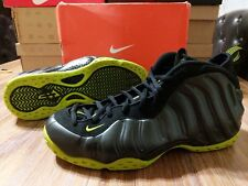 finest selection 4fff6 ca50d Nike Air Foamposite One 1 Vintage Black Bright Cactus CLEAN 2007 size 11.5
