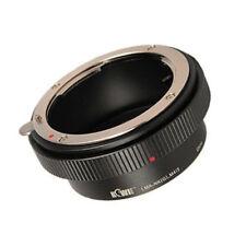 Adaptador del objetivo se adapta a Nikon G micro en puerto 4/3 MFT bayoneta cámara